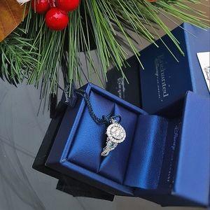 🚫SOLD🚫Disney's Cinderella Enchanted 14K White Gold 1CTTW Diamond Ring 💍